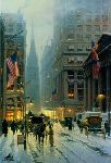 Wall Street - New York by G. Harvey