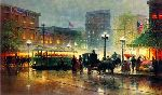 Peachtree Street (Atlanta) by G. Harvey