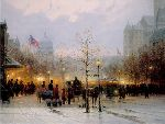 Inauguration Eve (US Capitol) by G. Harvey