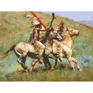 Tribal Warfare by Howard Terpning