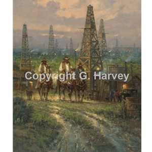 Drifting Through the Oil Patch by G. Harvey