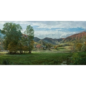 English Farm by landscape artist Phillip Philbeck