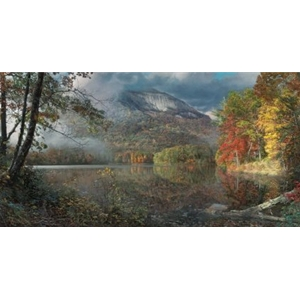 Table Rock in Autumn - North Carolina landscape by artist Phillip Philbeck
