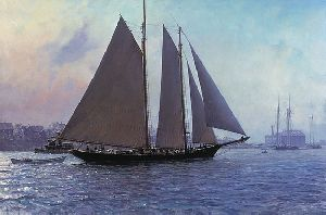 Glouster Mackerel Seiners by Christopher Blossom
