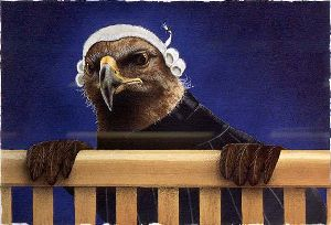 Legal Eagles - Lawyer by comedic artist Will Bullas