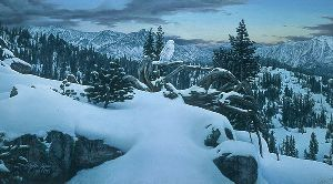 Early Winter in the Mountains by Stephen Lyman