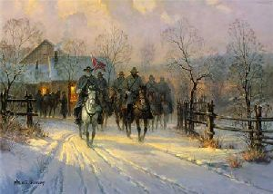 Lee and Longstreet by G. Harvey