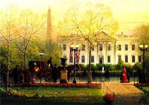 1600 Pennsylvania Avenue by G. Harvey